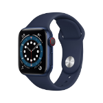 Apple Watch Series 6 OLED 40 mm Azul 4G GPS (satélite)
