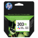 HP 303XL High Yield Tri-color Original cartucho de tinta Cian, Magenta, Amarillo