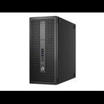 HP EliteDesk 800 G2 3.2GHz i5-6500 Micro Tower Zwart PC