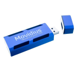 Intel NCSM2450.DK1 stick PC Intel Movidius USB Blue
