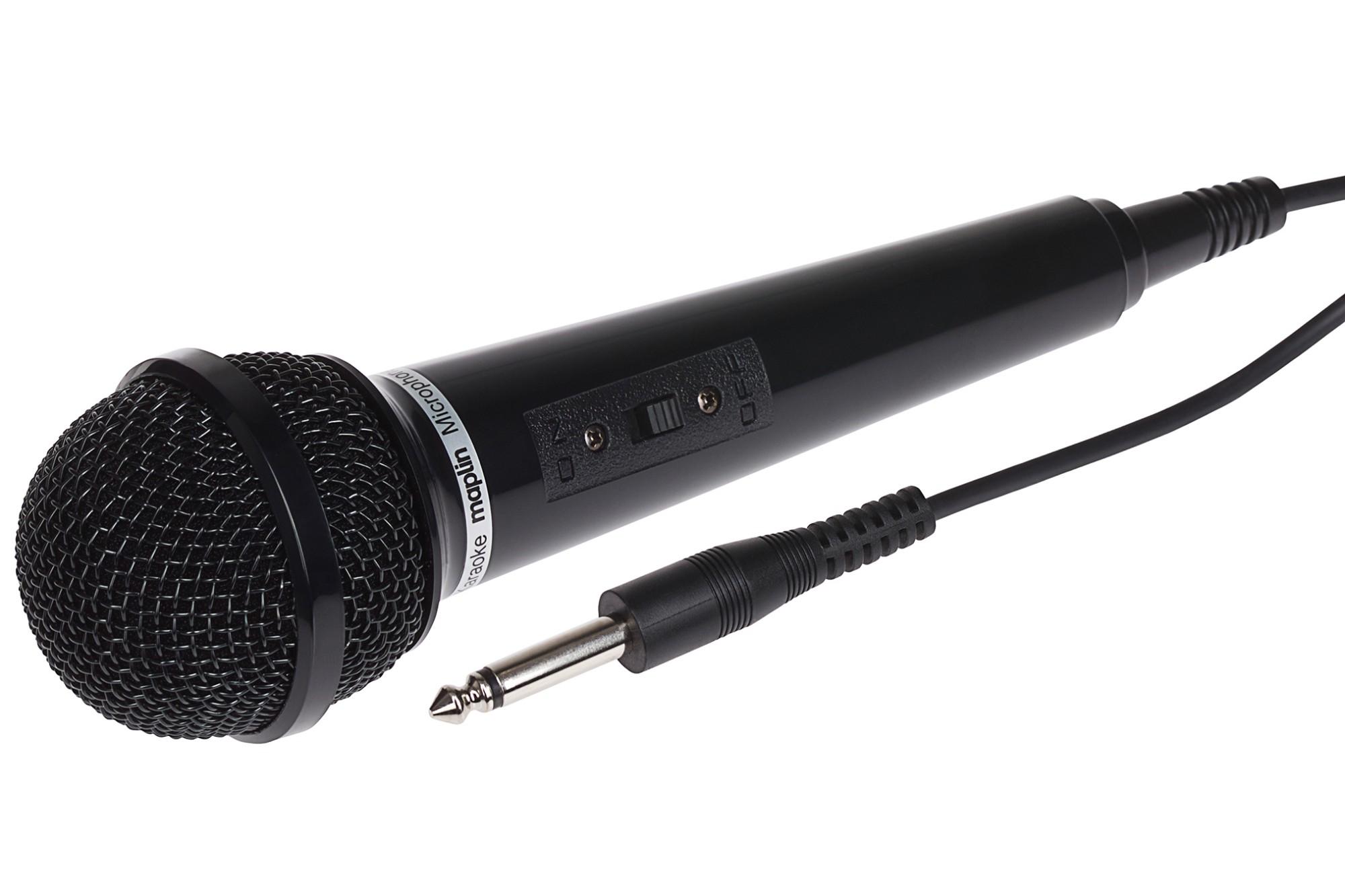 Dynamic Vocal Karaoke Microphone