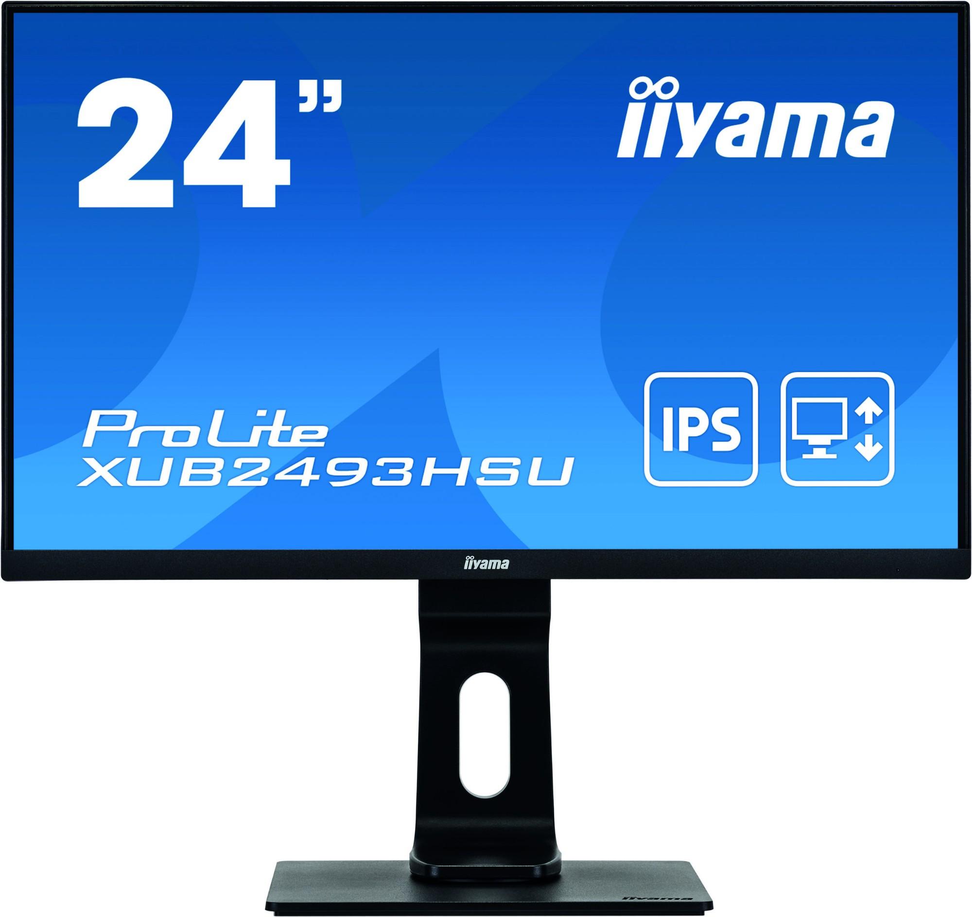 iiyama ProLite XUB2493HSU-B1 computer monitor 60.5 cm 23.8