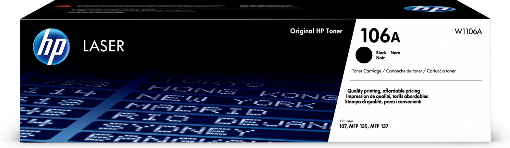 HP 106A Original Negro 1 pieza(s)