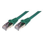MCL 3m Cat6 F/UTP cable de red F/UTP (FTP) Verde