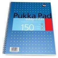 Pukka PUKKA EASYRITER METALLIC A4 WRIT PAD 80G