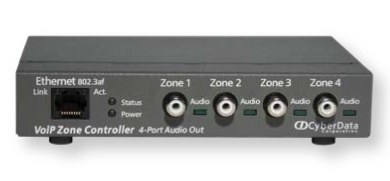 CyberData Systems 011171 AV repeater Grey AV extender
