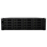 Synology RackStation RS2818RP+ storage server Ethernet LAN Rack (3U) Black NAS