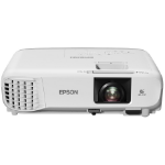 Epson EB-S39 Ceiling-mounted projector 3300ANSI lumens 3LCD SVGA (800x600) Grey, White data projector