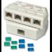 Lindy 34015 network splitter White