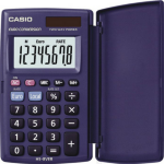 Casio HS-8VER Pocket Basic Blue calculator