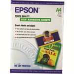Epson Photo Quality Ink Jet Paper self-adhesive, DIN A4, 167g/m², 10 Sheets photo paper