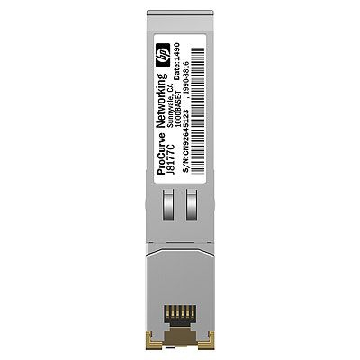 Hewlett Packard Enterprise X121 1G SFP RJ45 T Transceiver