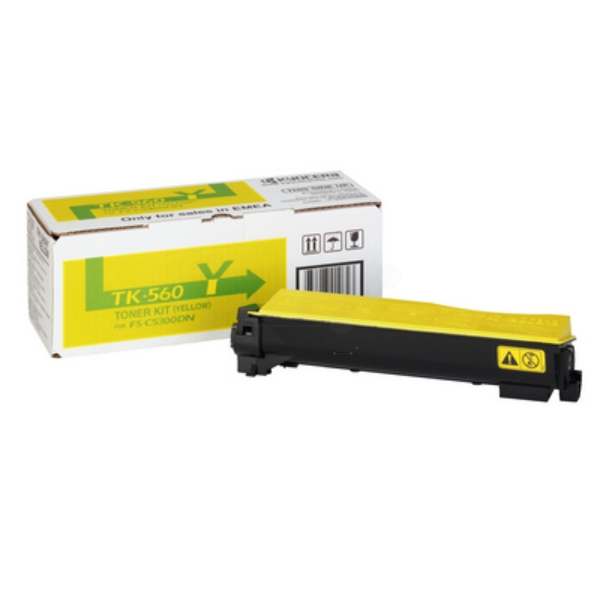 Kyocera 1T02HNAEU0 (TK-560 Y) Toner yellow, 10K pages