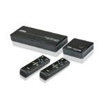 Aten VE829 AV transmitter & receiver Black AV extender