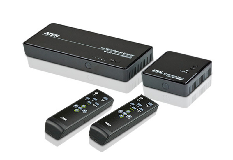 ATEN HDMI Wireless Matrix Extender with 5 inputs & 2 outputs, 30M WHDI