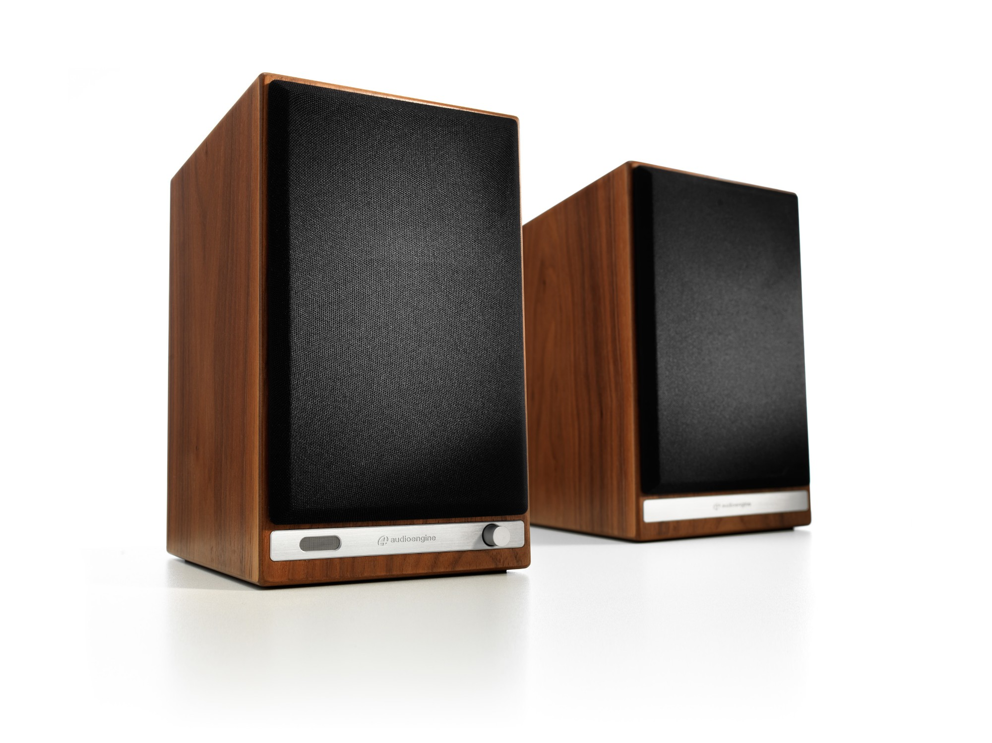 Audioengine HD6 50W Black, Brown loudspeaker