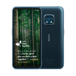 Nokia XR20 6.67 Inch Android UK SIM Free Smartphone with 5G Connectivity - 4 GB RAM and 64 GB Storage (Dual SIM) - Ultra Blue