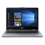 "ASUS VivoBook Flip TP410UA-EC658R Grey Hybrid (2-in-1) 35.6 cm (14"") 1920 x 1080 pixels Touchscreen 2.2 GHz 8th gen Intel® Core™ i3 i3-8130U"