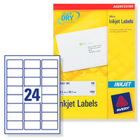 Avery J8159-100 addressing label White Self-adhesive label
