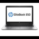"HP EliteBook 850 G3 Notebook Black,Silver 39.6 cm (15.6"") 1920 x 1080 pixels 6th gen Intel® Core™ i7 8 GB DDR4-SDRAM 256 GB SSD Wi-Fi 5 (802.11ac) Windows 10 Pro"