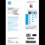 HP Professional Laser Matte FSC Paper 200 gsm-150 sht/A4/210 x 297 mm printing paper A4 (210x297 mm) Matt 150 sheets White