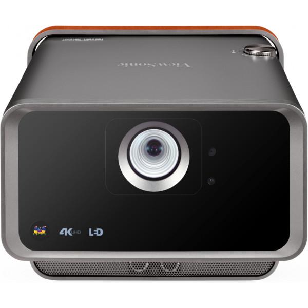 Viewsonic X10-4K data projector 2400 ANSI lumens LED 2160p (3840x2160) 3D Desktop projector Black, Brown