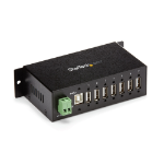 StarTech.com 7-Port Industrial USB 2.0 Hub with ESD & 350W Surge Protection