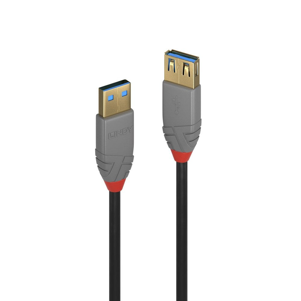 Lindy 36761 USB cable 1 m USB A Black