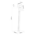 """Newstar tablet vloersteun voor 9.7"""" iPad/ iPad Air/ iPad Pro"""