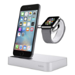 Belkin Valet Smartwatch/Smartphone Silver mobile device dock station