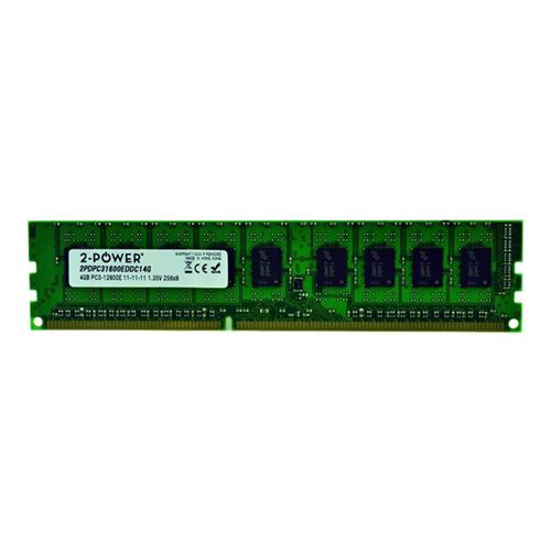 2-Power 4GB DDR3 1600MHz ECC + TS UDIMM