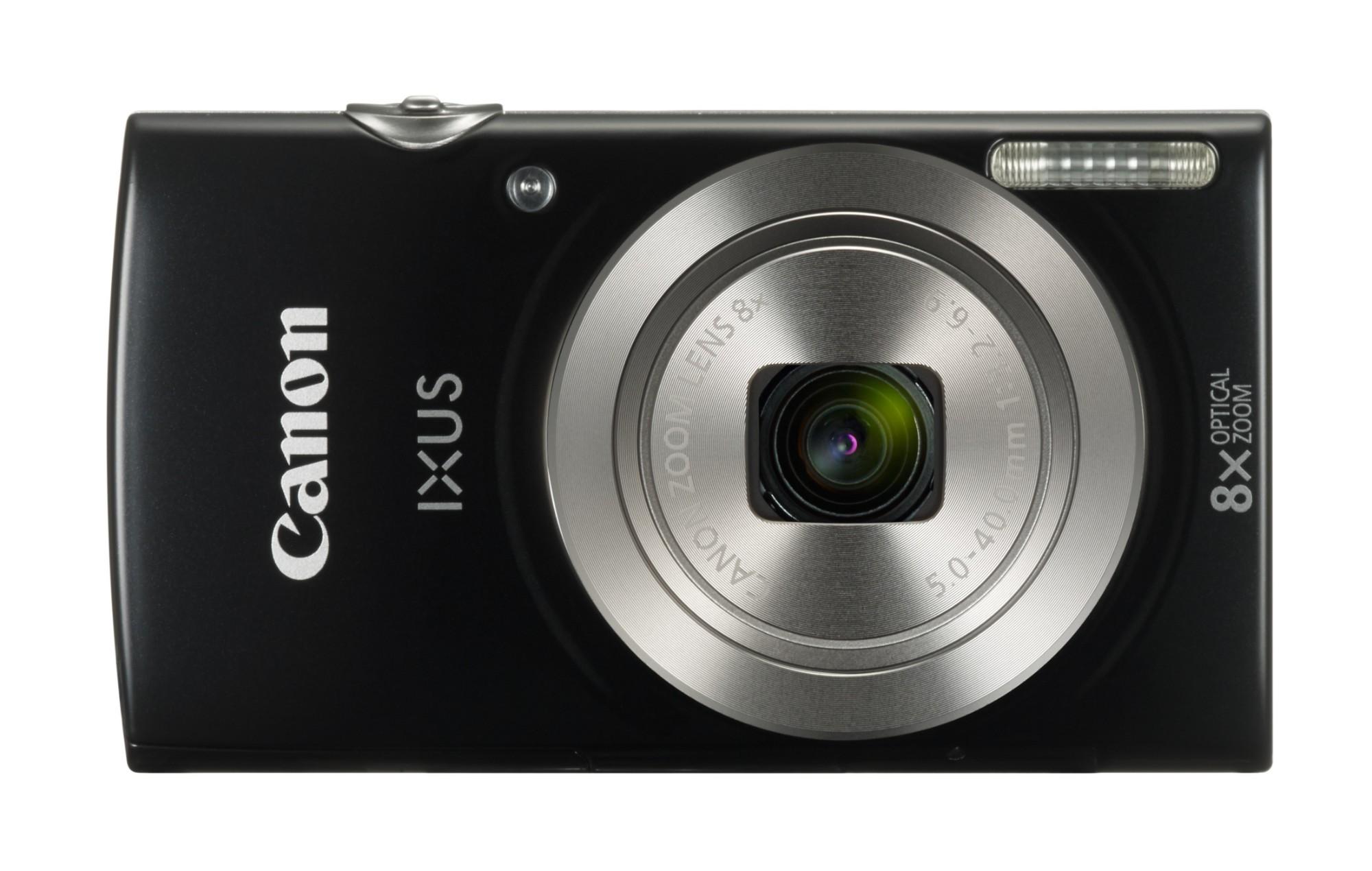 Ixus 185 Black 20mpix 8x Opt Zoom