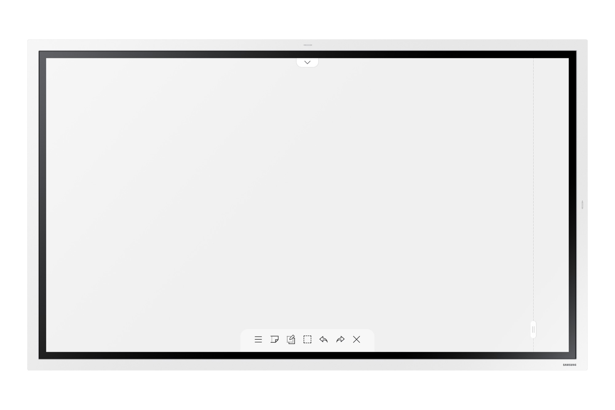"Samsung WM55R-W 139,7 cm (55"") LED 4K Ultra HD Pantalla táctil Pantalla plana para señalización digital Blanco"