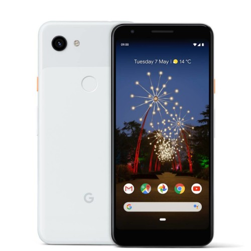 "Google Pixel 3a Clearly White 14.2 cm (5.6"") 4 GB 64 GB Dual SIM Black,White 3000 mAh"