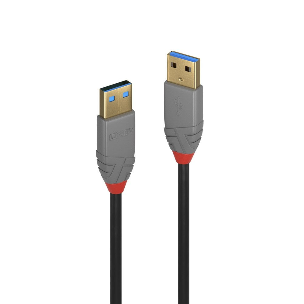 Lindy 36752 USB cable 2 m 3.2 Gen 1 (3.1 Gen 1) USB A Black