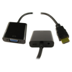 NEWLINK ADAPTER, HDMI-VGA + AUDIO + USB POWER