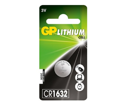 GP Batteries Lithium Cell CR1632 Single-use battery
