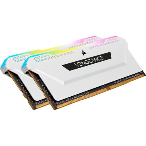 Corsair Vengeance CMH16GX4M2E3200C16W memory module 16 GB 2 x 8 GB DDR4 3200 MHz