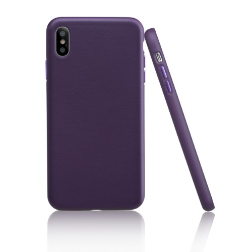 Garbot Corium Nappa Leather Case for Iphone XS Max Tailored Purple