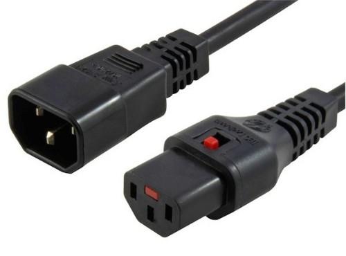 Microconnect PC1024 power cable Black 1 m C13 coupler C14 coupler