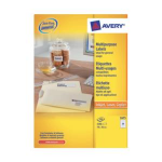 Avery Printer Labels 70x36mm (100) 2400pc(s) self-adhesive label