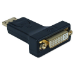 QVS DPDVI-MF cable interface/gender adapter DisplayPort DVI Black