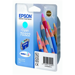 Epson C13T03224010 (T0322) Ink cartridge cyan, 420 pages @ 5% coverage, 16ml