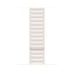 Apple MJKR3ZM/A smartwatch accessory Band Weiß Leder