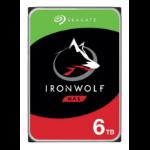 "Seagate IronWolf ST6000VN001 interne harde schijf 3.5"" 6000 GB SATA III"