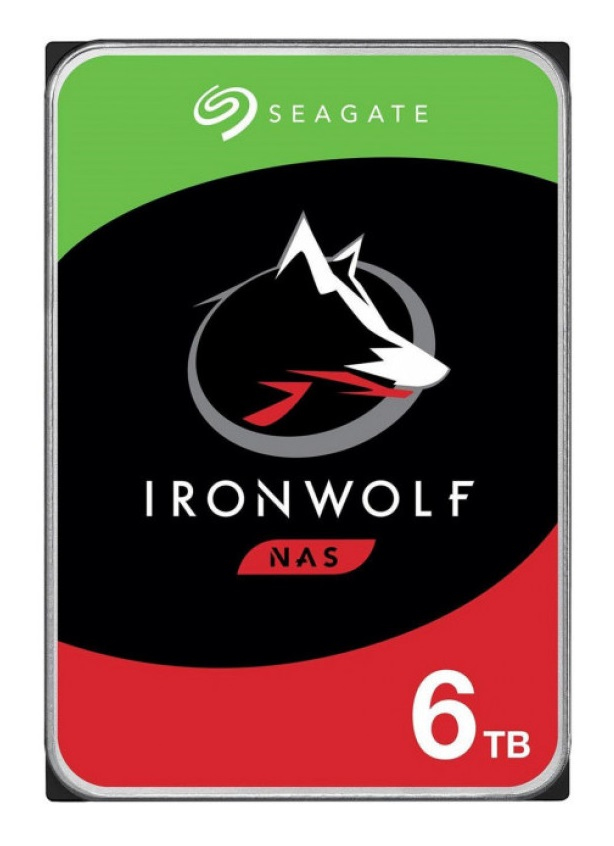 "Seagate IronWolf ST6000VN001 disco duro interno 3.5"" 6000 GB Serial ATA III"