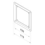 Newstar FPMA-VESA100 Montage-Kit