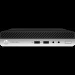 HP 400 ProDesk G5 DM, i5-9500T, 8GB, 256GB SSD, WLAN, W10P64, 1-1-1 (Replaces 4ZD95PA)