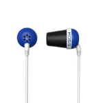 Koss PLUG B Blue Intraaural In-ear headphone