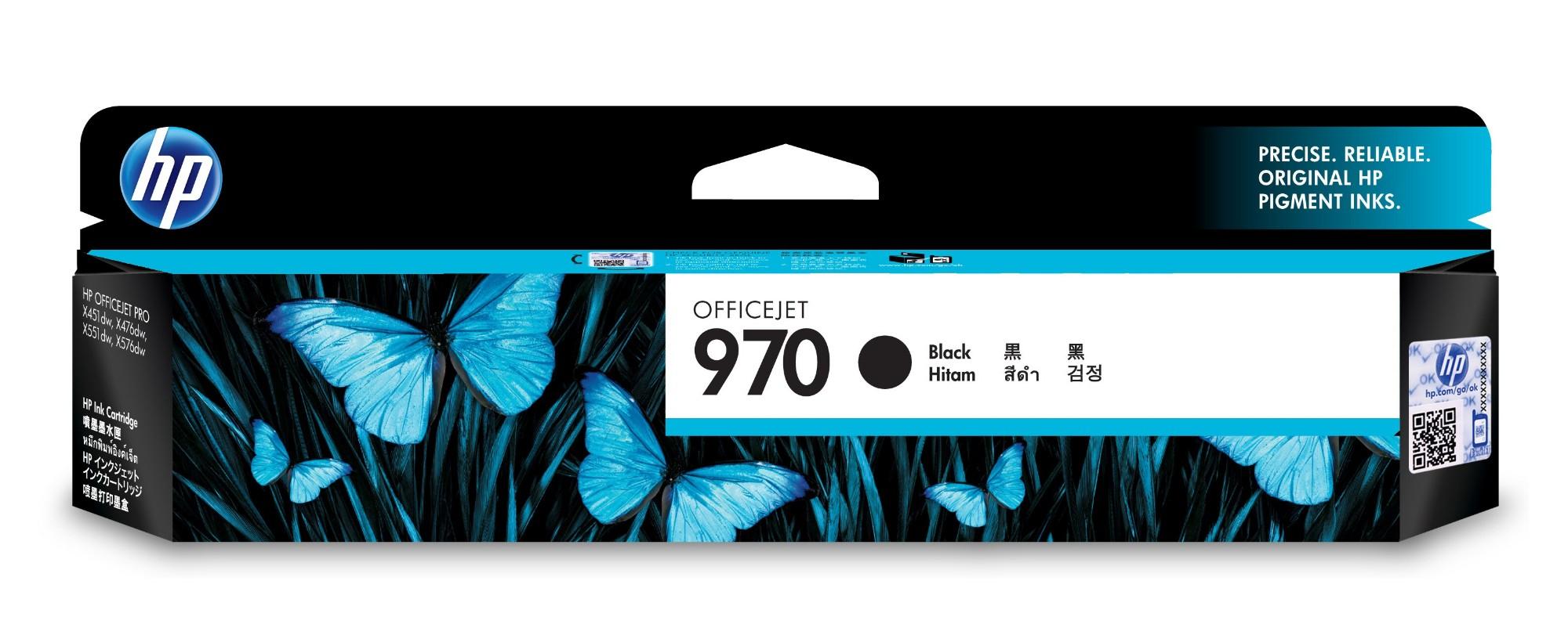 HP 970 Origineel Zwart